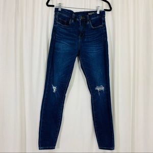 Blank NYC   Distressed Mid-Rise Skinny Jeans  